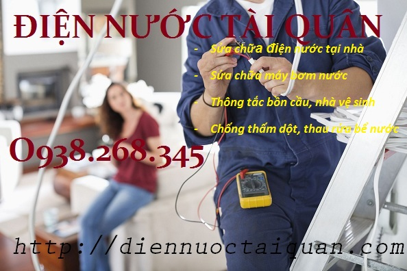 Cần thợ sửa chữa điện nước tại Kim Văn & Kim Lũ liên hệ Tài Quân 0938268345