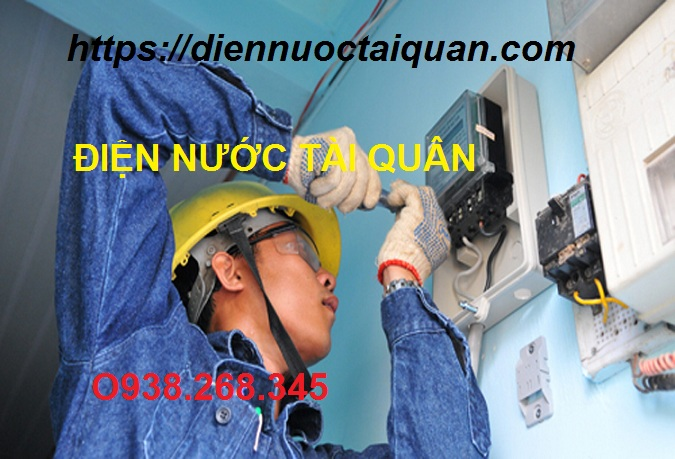 Thợ sửa chữa điện nước tại Mai Động Hotline O938.268.345