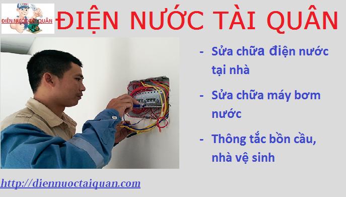 Thợ sửa chữa điện nước tại Nguyễn Trãi Hotline: O938.268.345