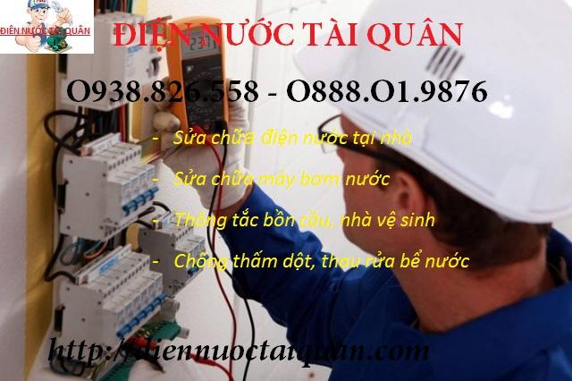 Thợ sửa điện tại quận Hoàng Mai uy tín.
