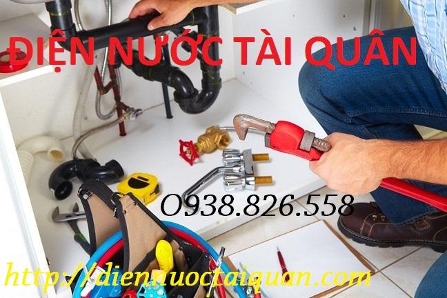 Thợ sửa chữa điện nước Tài Quân tại Hà Nội