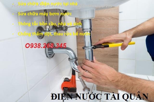 Dịch vụ sửa chữa đường ống nước tại quận tây Hồ gọi 0938268345 - Điện Nước Tài Quân