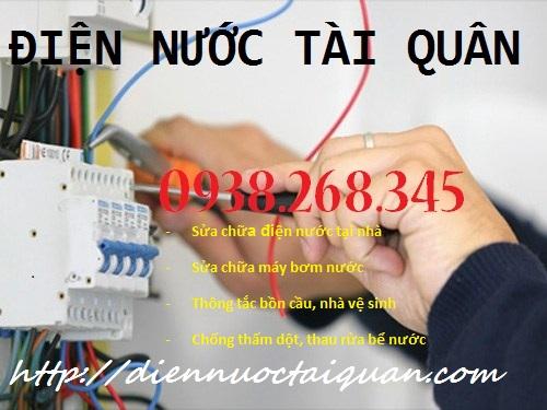 Thợ sửa chữa điện nước tại Trường Chinh Hotline: 0938.268.345