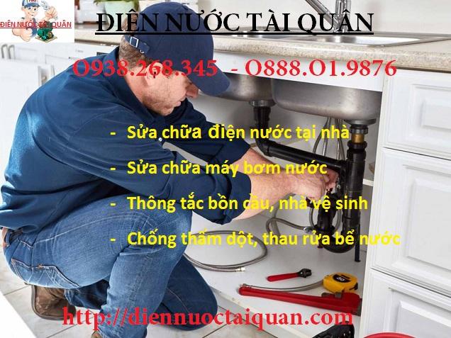 Dịch vụ sửa chữa điện nước tại quận Hoàng Mai uy tín.