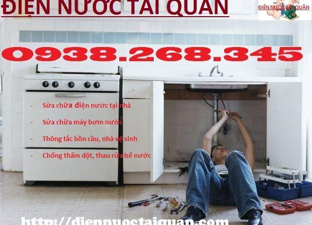 Thợ sửa chữa điện nước tại Thúy Lĩnh gọi ngay Mr Quân O938.268.345